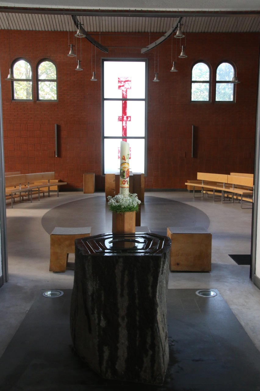 Innenraum St. Marien Ahrensburg