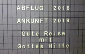 Unser Schaukasten Ahrensburg Neujahr 2019