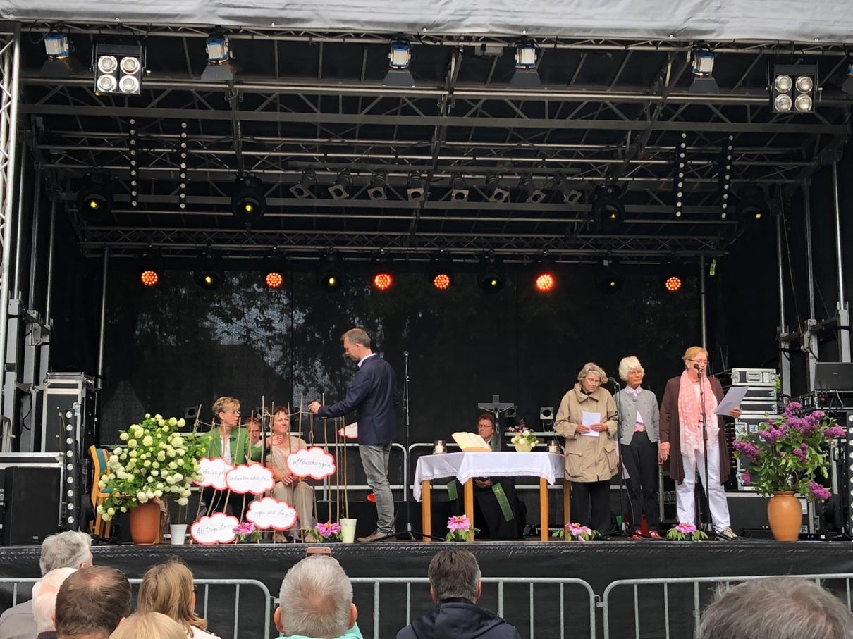 Stadtfest-Gottesdienst Bargteheide 2019