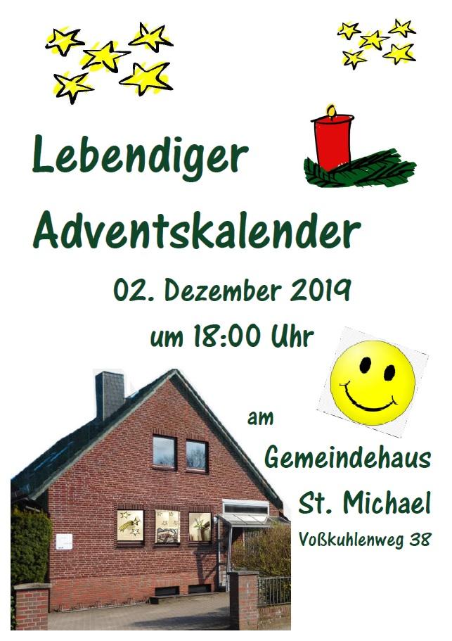 """Lebendiger Adventskalender 2019"" St. Michael 2. Dezember"