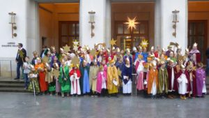 Besuch Sternsinger St. Michael Kieler Landtag 6. Januar 2020