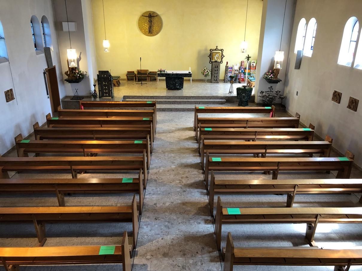 "Hl. Messe in ""Corona-Krise"" St. Michael 10. Mai 2020"