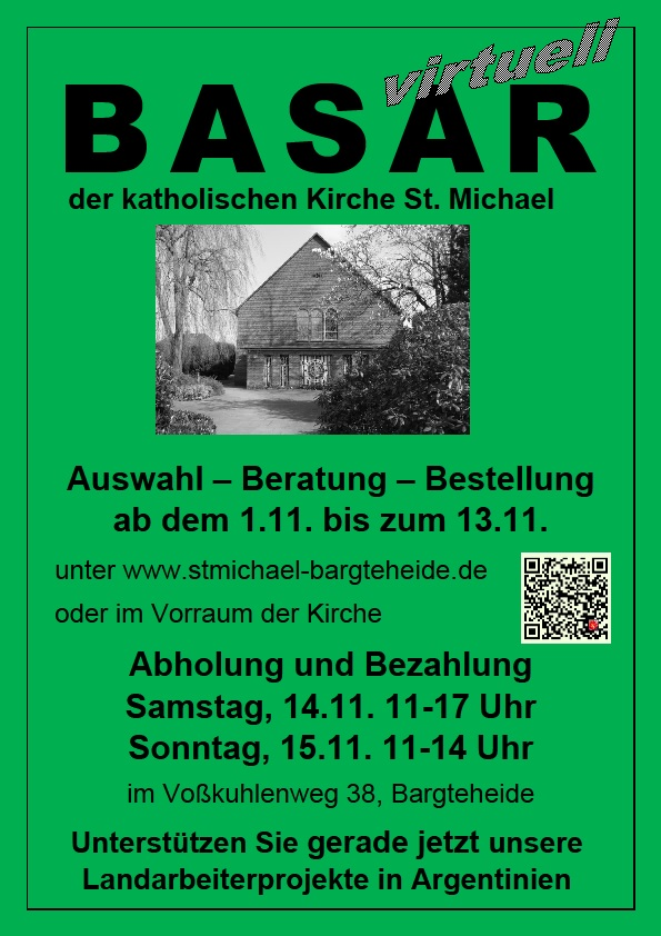 Virtueller Basar in St. Michael 2020