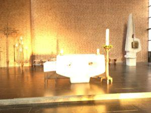 Altar in St. Vicelin